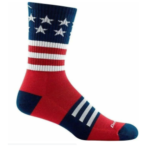 darn tough mens stars and strips crew sock